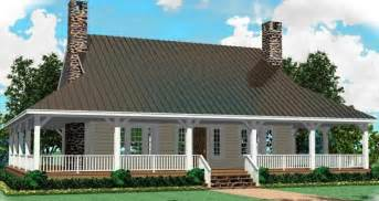 One Story Wrap Around Porch House Plans by Wrap Around Porch Home Designs