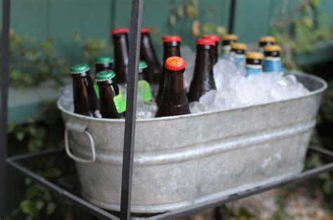 beer bathtub galvanized garden chill ice tub 5 5 gallon a1 party