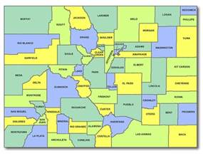 a map of colorado colorado cart licensing county state and