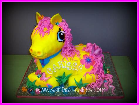 Pony Birthday Cake my pony birthday cake