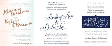 guide to the elements of a wedding invitation suite