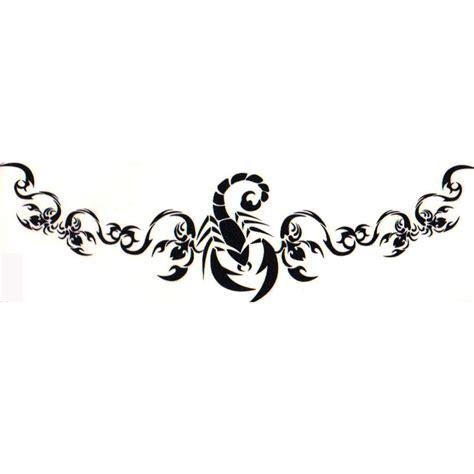 scorpion henna glitter tattoo stencil tattoo cliparts co