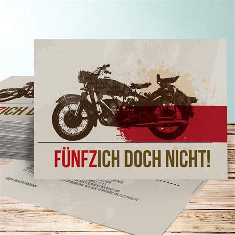 Motorradfahren Mit 60 Jahren by Geburtstagseinladungen Biker Detail