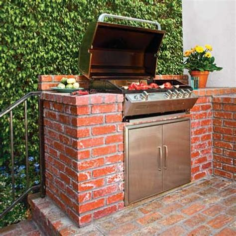 Backyard Brick Grill Outdoor Brick Grill Pictures And Ideas
