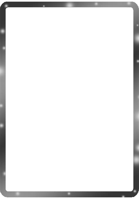 Black And White Border Cards Template by The Gallery For Gt Fancy Gold Corner Borders Png