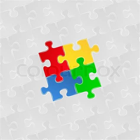 abstract jigsaw pattern abstract background with jigsaw puzzle pieces stock