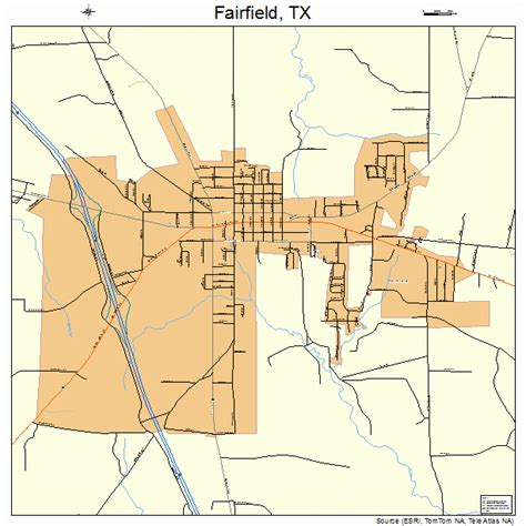 fairfield texas map fairfield texas map 4825104