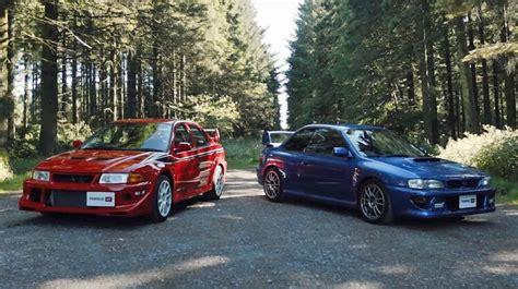 Rally Autos Jaren 90 by Video 90 S Rally Icons Subaru Impreza 22b Vs Mitsubishi