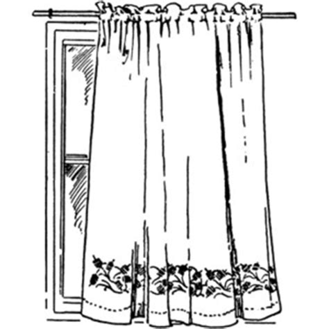 Bedroom Curtains Clipart Curtain Clipart Polyvore