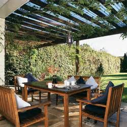 Patio Area Garden Dining Area Outdoor Furniture Landscape Design
