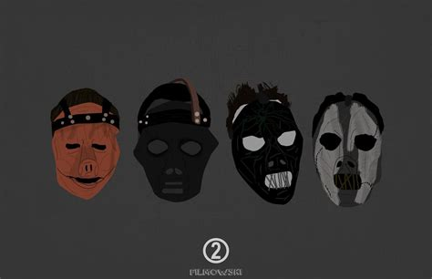 Masker Evo slipknot mask evolution www imgkid the image kid