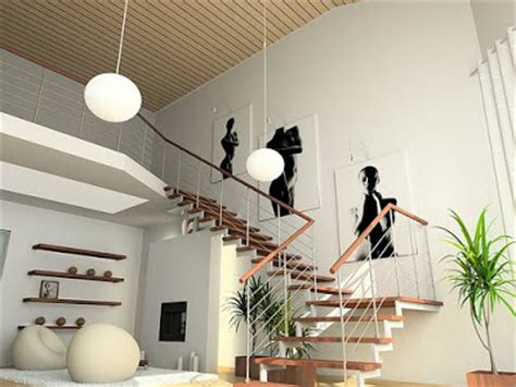 luxury interior design: various kinds of shapes of stairs