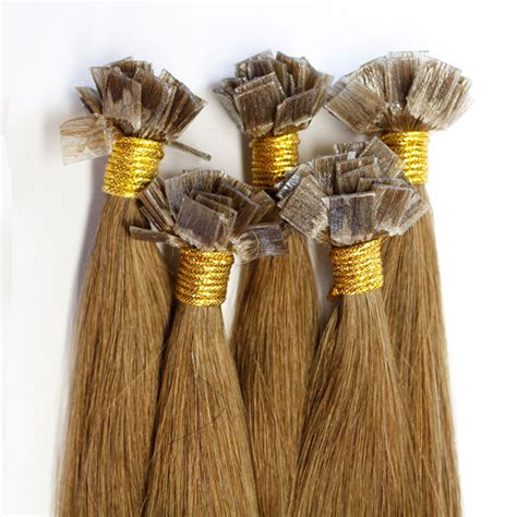 hair extension i tip indian remy hair pre bonded indian human hair extensions 18inch flat tip