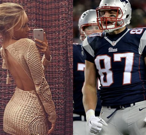 camille kostek rob gronkowski s girlfriend is quite the new england patriot wags are these super bowl wives and