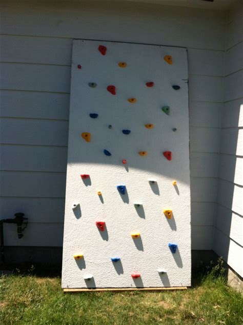 backyard climbing wall for kids 1000 images about diy toddler games on pinterest gross