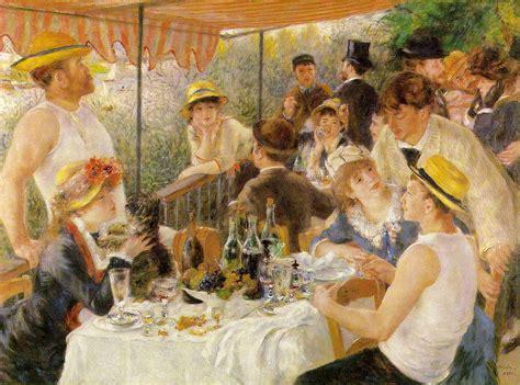 libro gauguin by himself webmuseum renoir pierre auguste le d 233 jeuner des canotiers