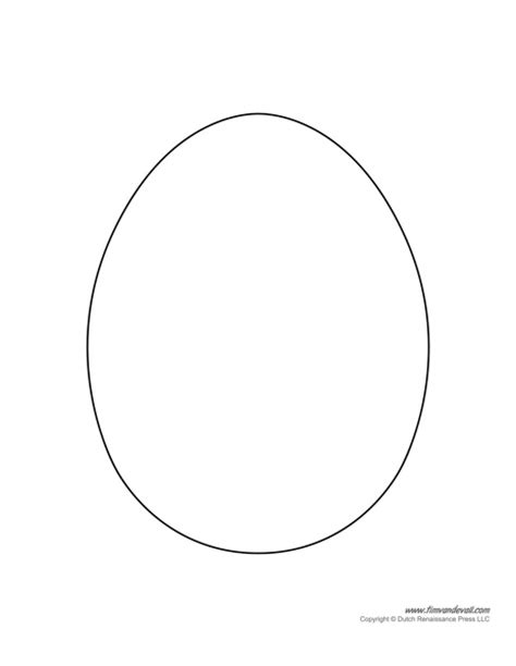 egg template printable easter egg templates