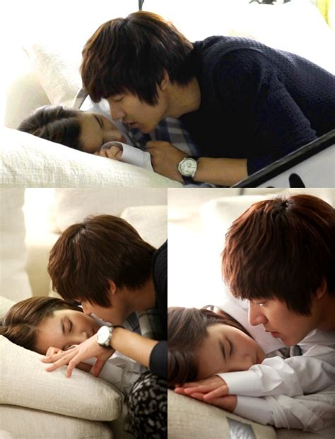 video film lee min ho kiss park min young was angry about unfulfilled quot sofa kiss quot in