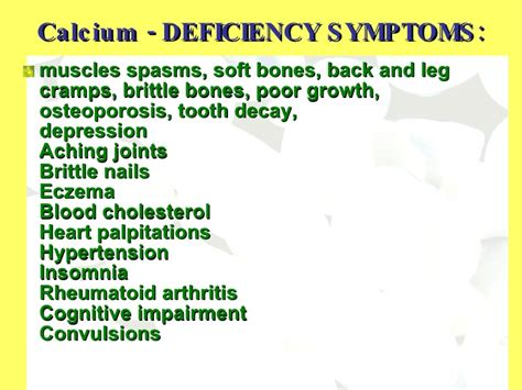 supplement for leg crs calcium deficiency and spasms lecture 13 bone tissue