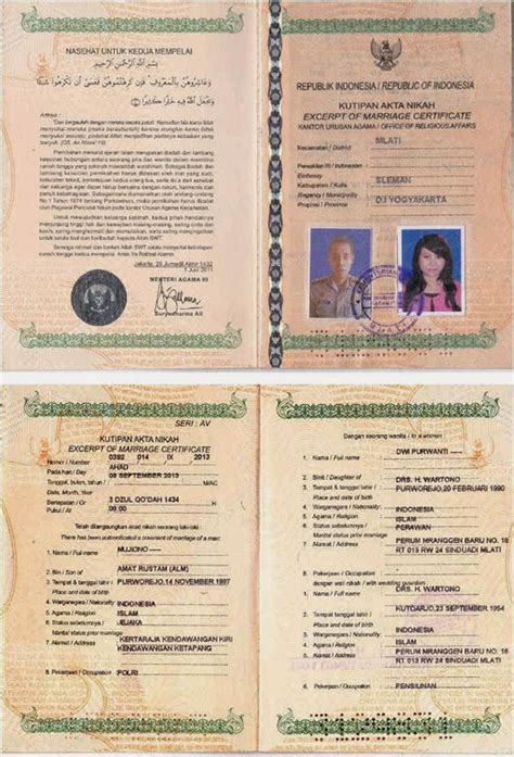 contoh surat numpang nikah wisata dan info sumbar