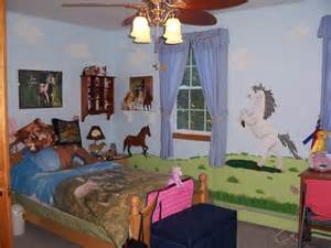 Horse Themed Bedroom Ideas Custom Kids Wall Art Janrobinsonart Com