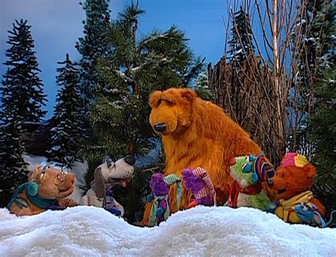 bear inthe big blue house a berry bear christmas a berry bear christmas bear in the big blue house wikia fandom powered by wikia