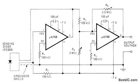 diode as thermal sensor diode thermal sensing circuit 28 images fully linear diode sensor sensor circuit circuit
