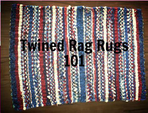 Rag Rug History by Homemaker S Scrapbook Twined Rag Rugs 101