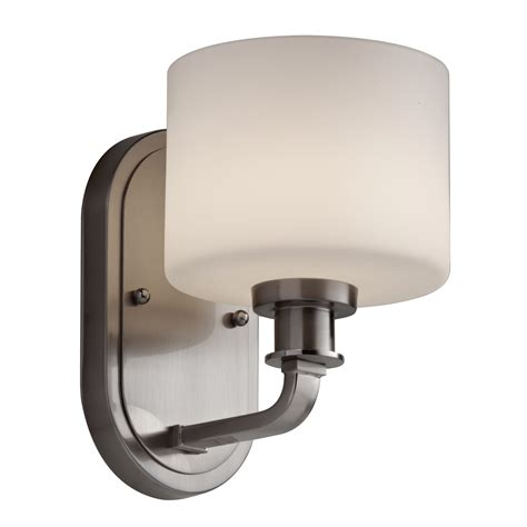 feiss bathroom lighting feiss kincaid 1 light bath vanity light l brilliant source lighting