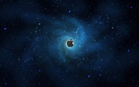 Apple Wallpaper With Stars | apple in stars wallpapers hd wallpapers id 951