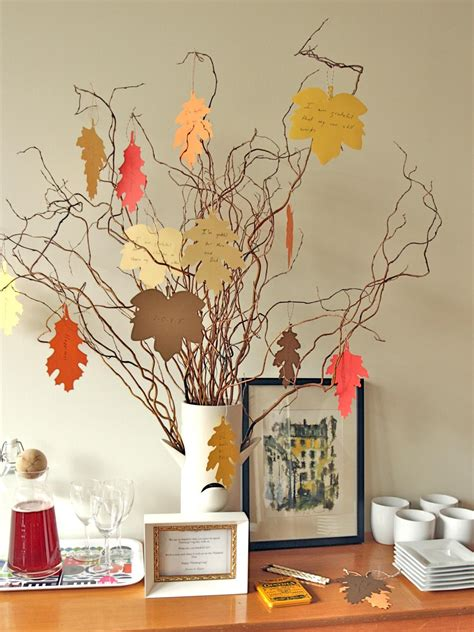 thankful tree craft for new thanksgiving tradition create a thankful tree hgtv