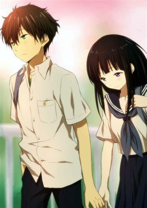 anime hyouka pinterest oreki chitanda hyouka pinterest anime anime couples