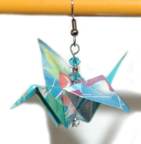 Beautiful Origami - beautiful origami crane dangle earrings 5 colors ebay