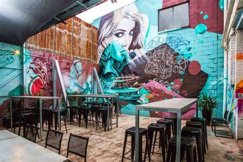 graffiti wallpaper brisbane battery station cool outdoor bars hidden city secrets