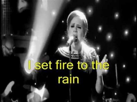 free download mp3 adele i set fire to the rain adele set fire to the rain hd video lyrics legendado
