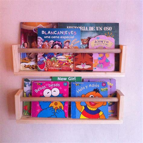 librero infantil repisa librero infantil flotante modelo corchete 12