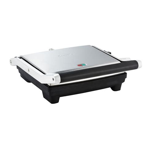 Breville Sandwich Toaster Replacement Plates Breville 4 Slice Sandwich Press Officeworks