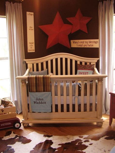 10 Rustic Spaces We Love From Hgtv Fans Cowboy Baby Western Baby Crib