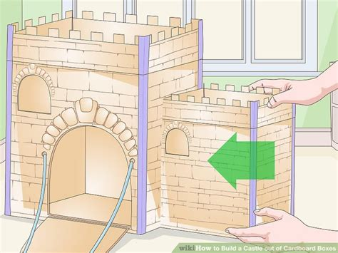 How To Make A Paper Fort - how to build a castle out of cardboard boxes with pictures