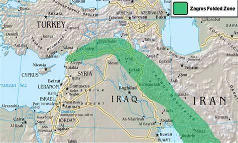 middle east map elburz mountains zagros gebirges iranbild