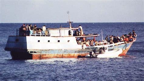 refugee c boat another refugee boat arrives herald sun