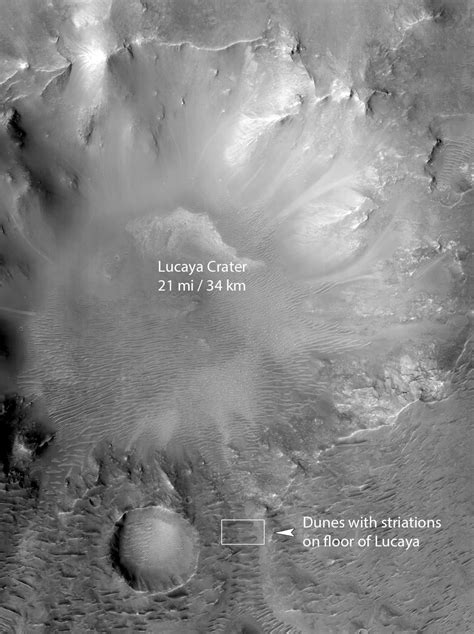 A Region On Mars With Recent Water Is About To Get Major