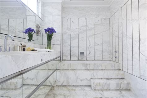white marble tile bathroom 20 ideas to answer is marble tile good for bathroom floor