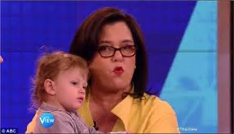 Rosie To Replace Rosie On The View by Rosie O Donnell Makes Exit From The View As She