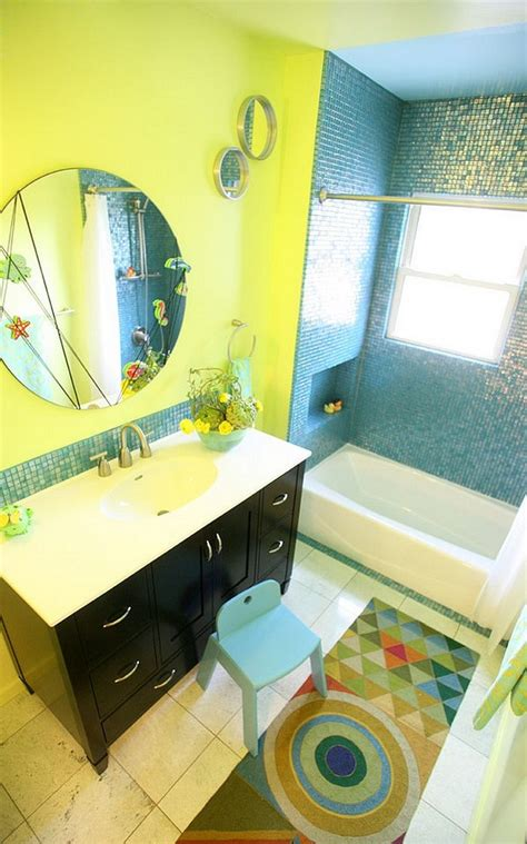 yellow and blue bathroom blue and yellow bathrooms to create a timeless color scheme