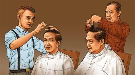 Kursi Cukur Anak kisah para tukang cukur langganan presiden ri
