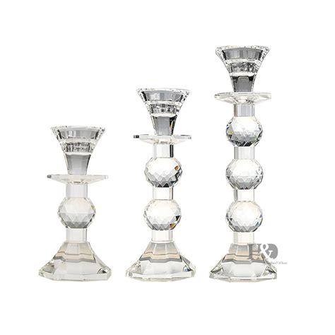kerzenhalter glas hochzeit kaufen gro 223 handel glas kerzenhalter set aus china