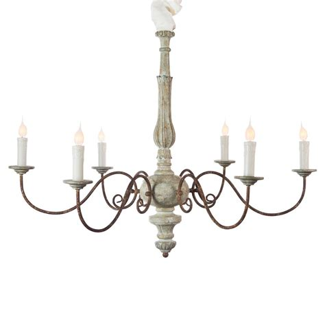 scroll chandelier avignon country blue iron scroll chandelier