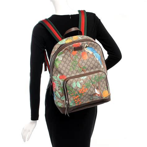 Backpack Guccl Gg Monogram 6317 gucci gg supreme monogram tian backpack 211102