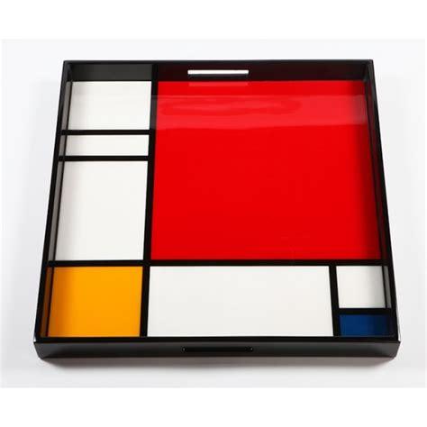 Plateau De Service by Plateau De Service Mondrian Grand Mod 232 Le Arteum
